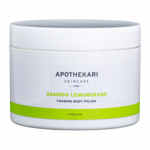 Bamboo-Lemongrass-Foaming-Body-Polish | Apothekari Skincare