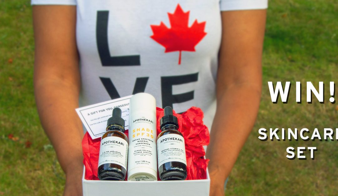 Canada Day Contest – Win! Apothekari Skincare Set