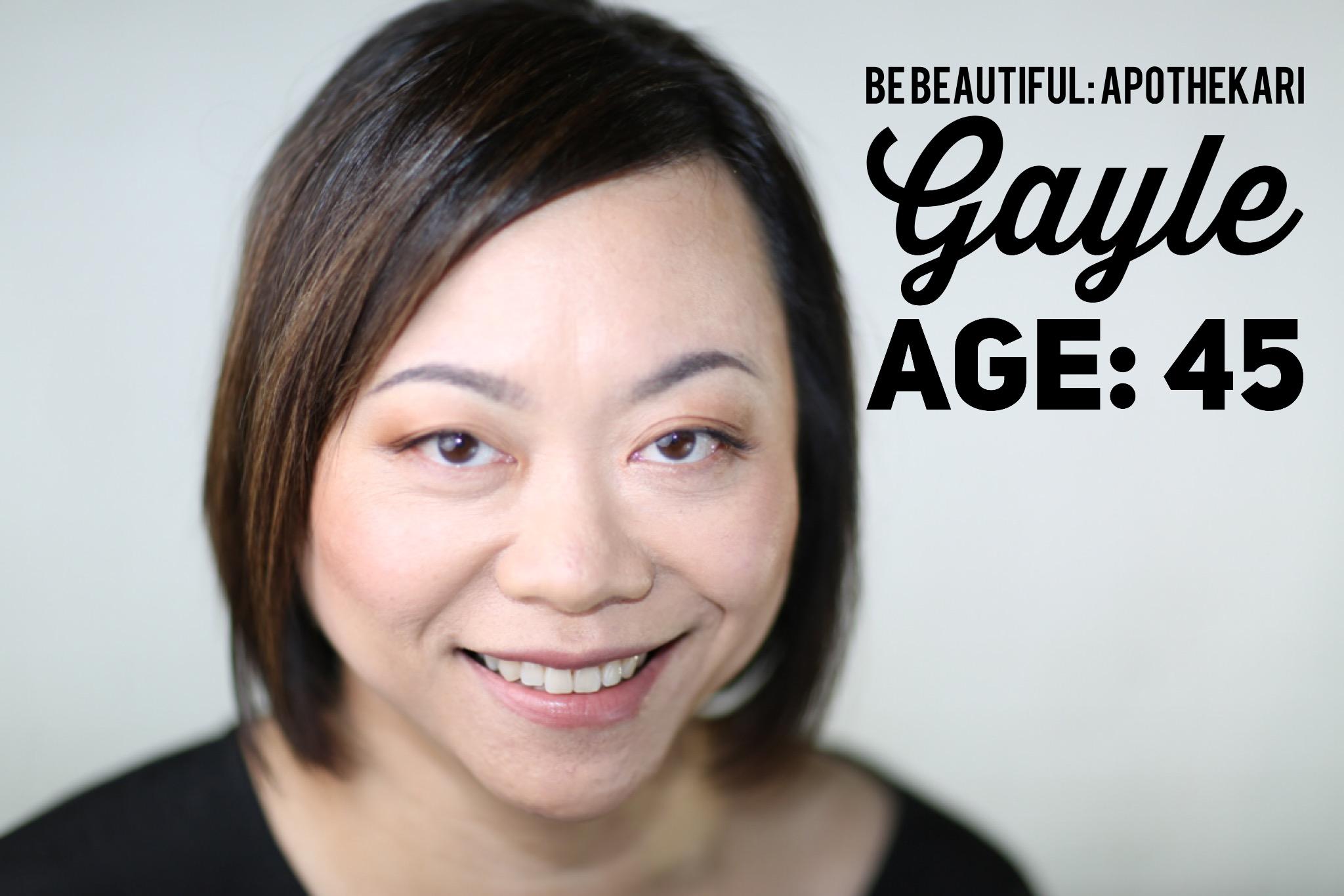 Gayle 1: Apothekari Be Beautiful May