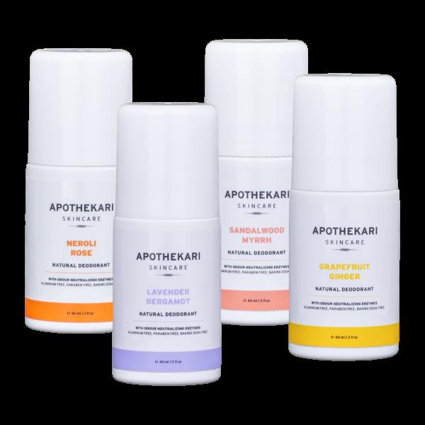 Apothekari Natural Deodorant SEt
