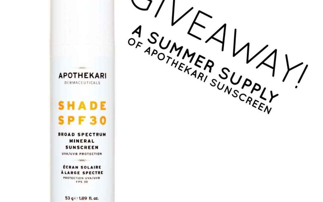 A Sunscreen Giveaway