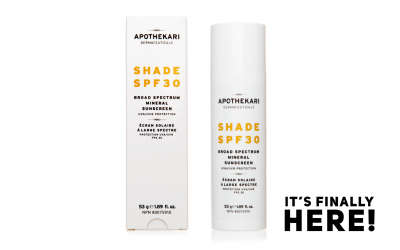 New Shade SPF 30 Sunscreen is Here!