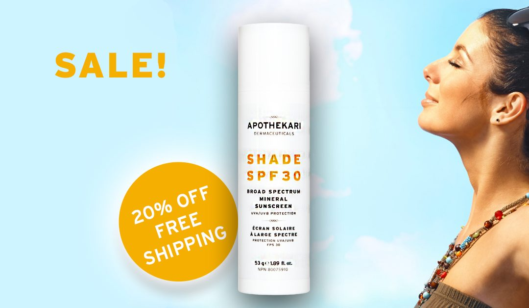 Sunscreen Sale – Get Ready for Summer!