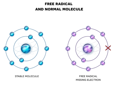 Free Radical and Normal Molecule
