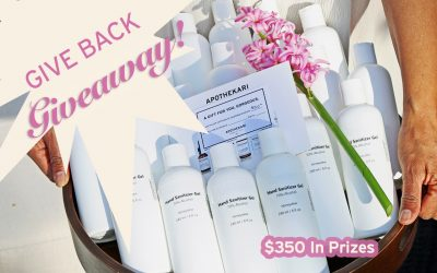 Give Back Giveaway – $350 in Prizes!