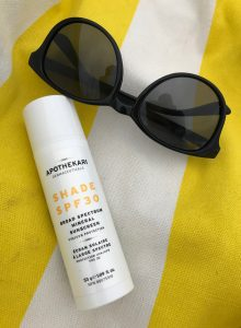 Shade SPF 30 and Beach Towel