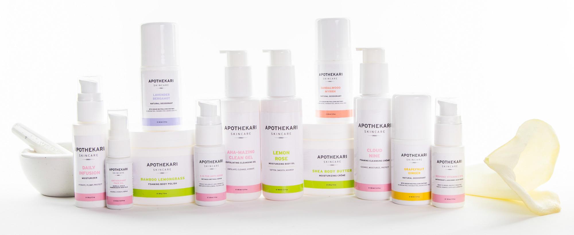 Apothekari Skincare Brand Canada
