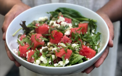 Eat This Healthy Watermelon Salad All Summer Long