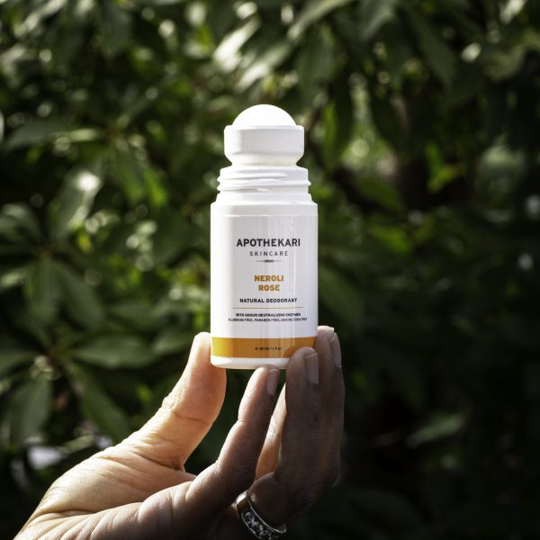 Neroli Rose Natural Deodorant Apothekari Skincare