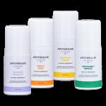 Natural Deodorant Set (4) Roll-On