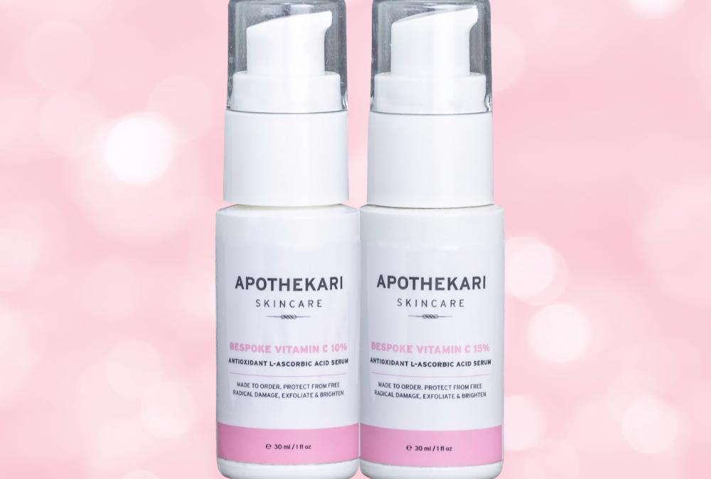 Bespoke-Vtiamin-C-Serum-Duo-Pink | Apothekari-Skincare